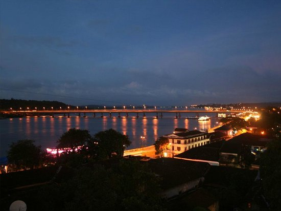 mandovi River View from Crown Casino
