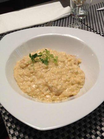 L'ile D'or : risotto aux crevettes