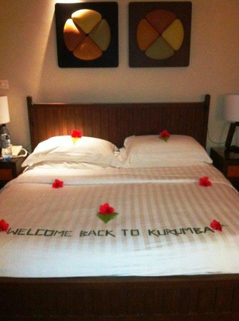 Kurumba Maldives: Cheers Room Boy!