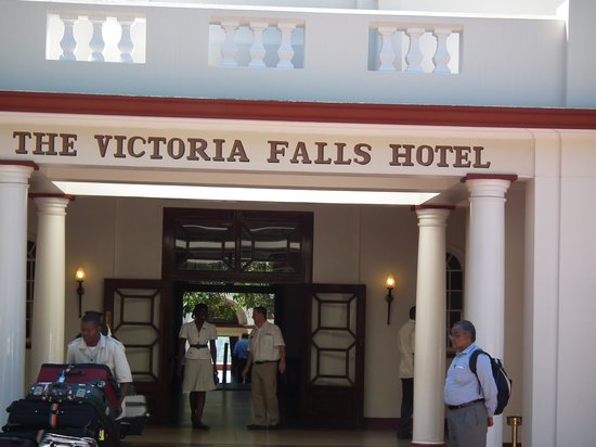 The Victoria Falls Hotel: View From the Front of the Hotel