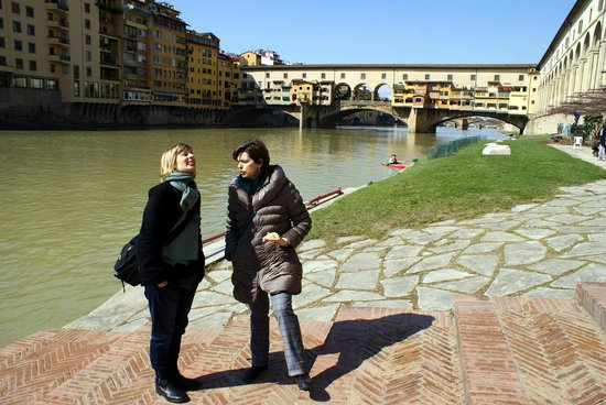 Guided Florence Tours: Bellissima Firenze vista dall'Arno