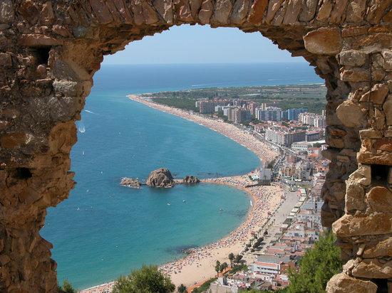 Бланес, Испания: Bahía de Blanes