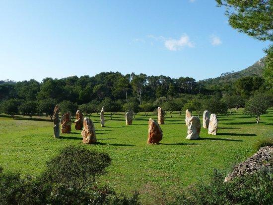 Museu Sa Bassa Blanca: Las Estelas del Sol.