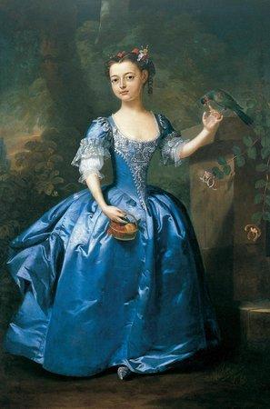 Museu Sa Bassa Blanca: Retrato de una niña de Inglaterra, sala Nins.