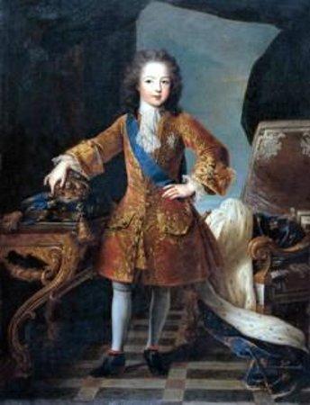 Museu Sa Bassa Blanca : Retrato de Luis XV, sala Nins.