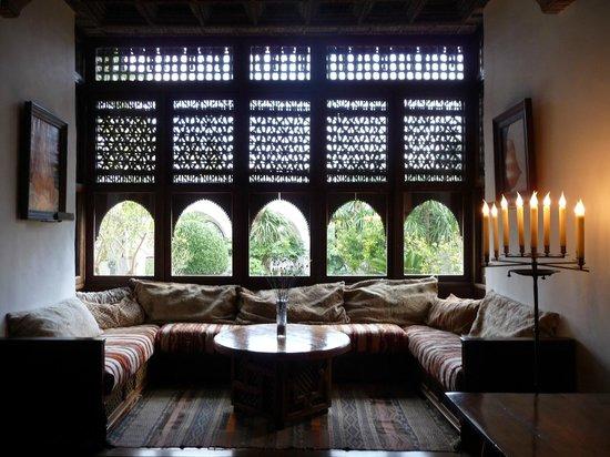 Museu Sa Bassa Blanca : Casa Hassan Fathy, interior del edificio principal.