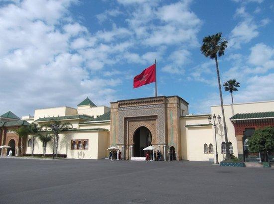 Royal Palace of Rabat: The King's Palace