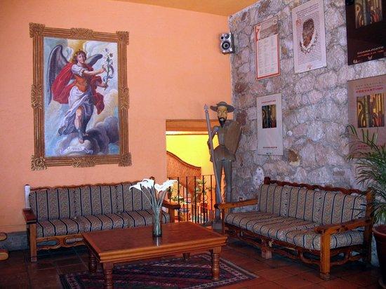 Mision Guanajuato: entrée de l'hôtel