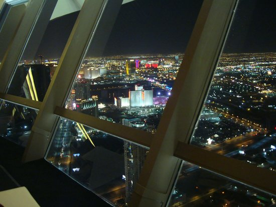 Top of the World Restaurant at the Stratosphere: the view