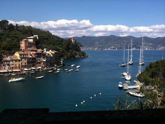 B&B Tre Mari Portofino: Panoramica _Portofino Aprile 2013