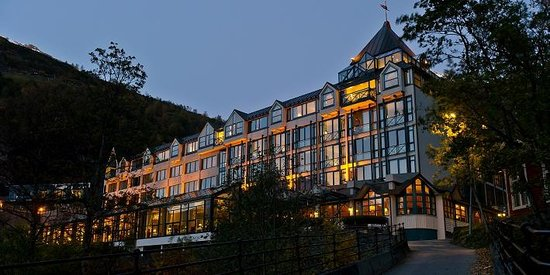 Hotel Union Geiranger: Hotel exterior
