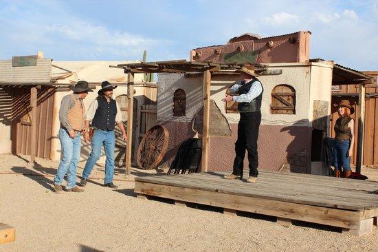 Cibola Vista: cowboy dinner and show