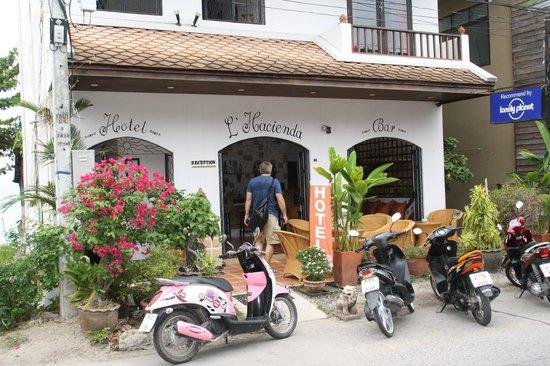 L' Hacienda: Front of Hacienda
