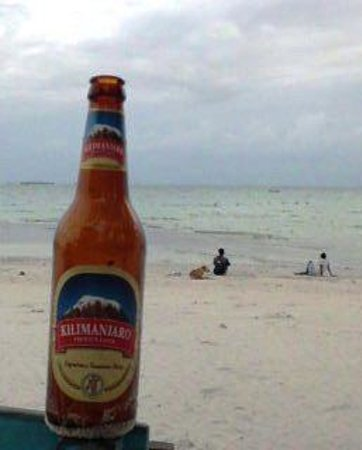 Harbour View Suites: For beer try Kilimanjaro