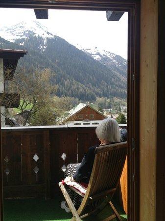 Anna-Luise: View from Apt. 1, Anna Luise St. Anton Austria