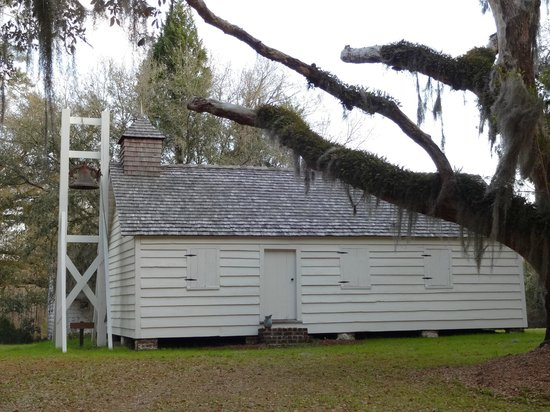 Mansfield Plantation: Slave's chapel