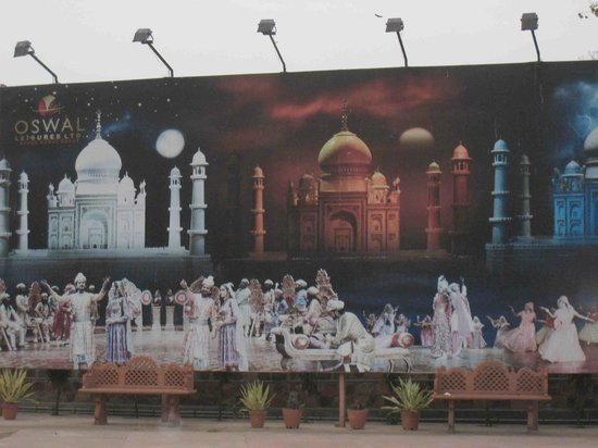 Kalakriti Cultural & Convention Center : Large poster outside advertising the show