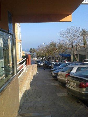 Doramar Apartments Benalmadena: Front door