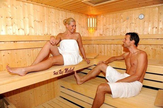 Raj Mahal Hotel: Sauna
