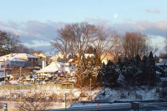 Hilton Hasbrouck Heights / Meadowlands: Paisaje de Invierno desde la habitación.