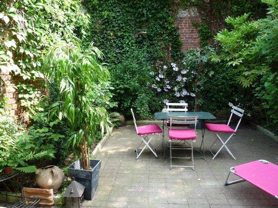 La Maison Flamen : Le jardin