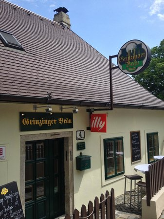 Grinzinger Bräu: Restaurant