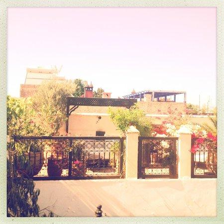 Dar el Souk: Rooftop at sunset