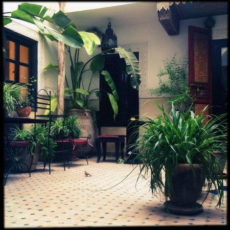 Dar el Souk: Outside our room