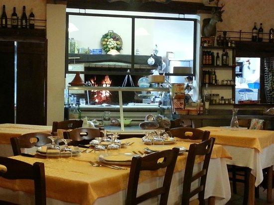 Osteria Il Braciere : Cucina a vista