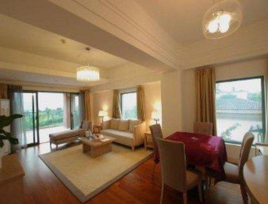 Shangbang Hotspring Hotel: Sitting Room