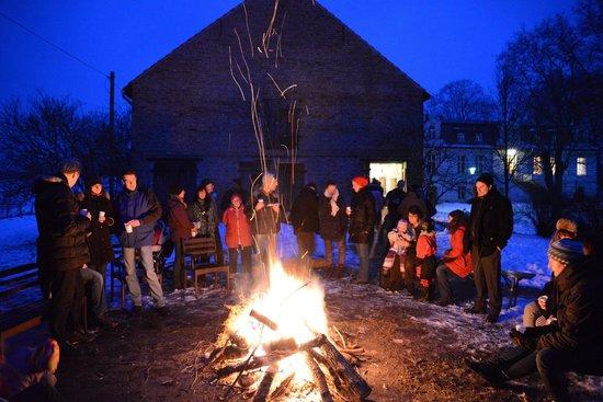 Osterfeuer 2013 auf Gut Boltenhof