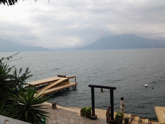 Laguna Lodge Eco-Resort & Nature Reserve: Vista desde el restaurante