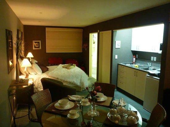 Molyneux House Bed & Breakfast : sitting corner