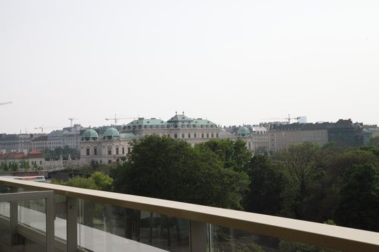 Austria Trend Hotel Savoyen Vienna: View from the terrace-the Belveder