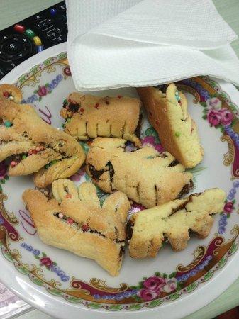 Porta Nuova: biscotti tipici con i quali siamo stati accolti!