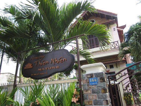 Nature Homestay : The outerview of the homestay