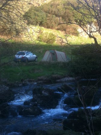 Cloud Farm Camping: Camping by the river