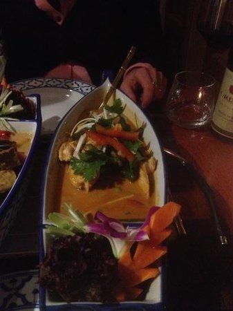 Tabkeaw Thais Specialiteiten Restaurant : Poulet Thaï curry vert lait de coco