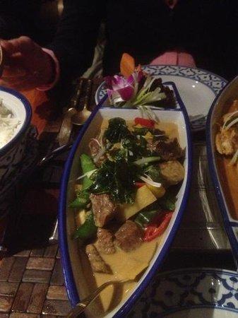 Tabkeaw Thais Specialiteiten Restaurant : Bœuf thaï