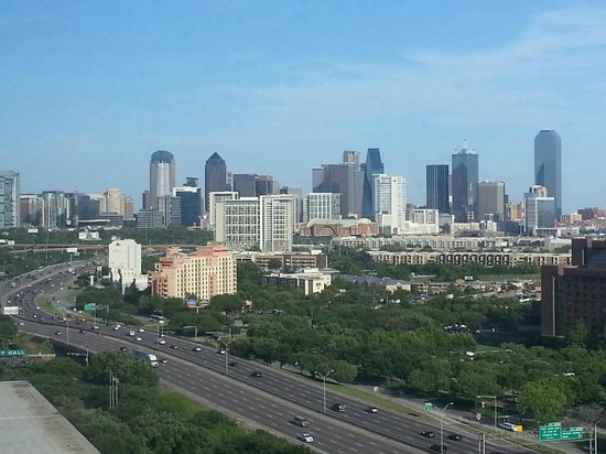Renaissance Dallas Hotel: View from the 18th floor.