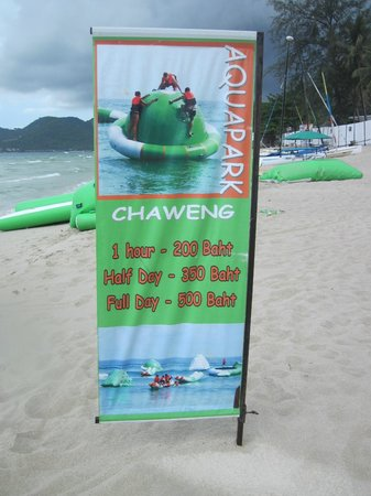 Aquapark: Prices