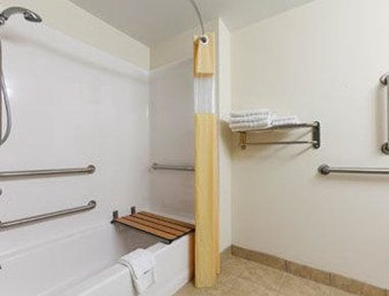 Days Inn Geneva Finger Lakes: ADA Bathroom