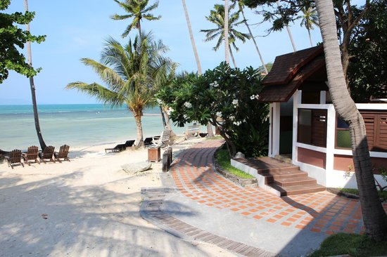 Cocohut Village Beach Resort & Spa: Sea view outside the Front Office