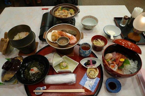 Oarai Hotel: 夕食(1人前)