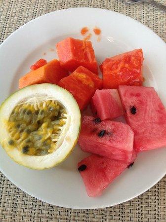 Club Med Punta Cana: Папайа, арбузы, passion fruit