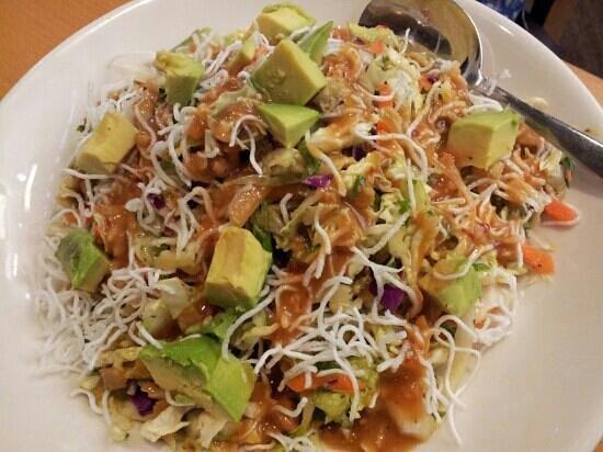 California Pizza Kitchen Thai Crunch Salad Full Wow Blog