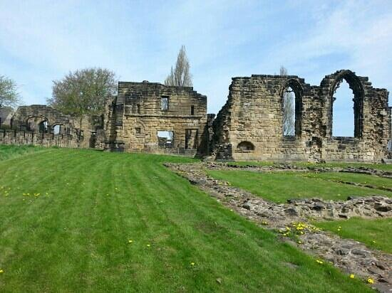 Monk Bretton Priory: today at the priory