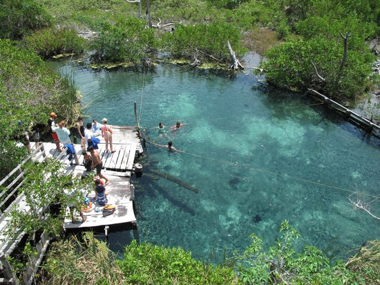 Holbox Island, México: cenote