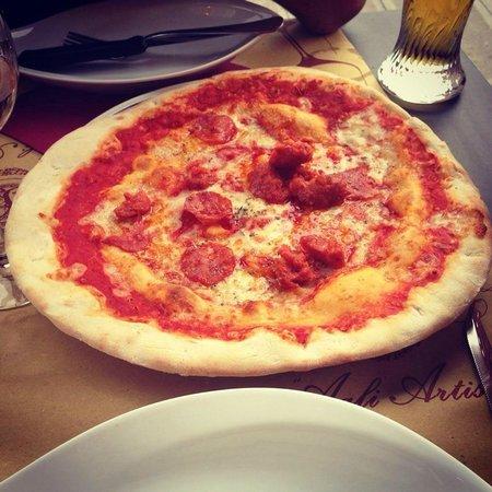 Trattoria Pizzeria Antico Gafaro: Pizza