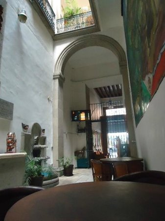 Mexico City Hostel: lobby